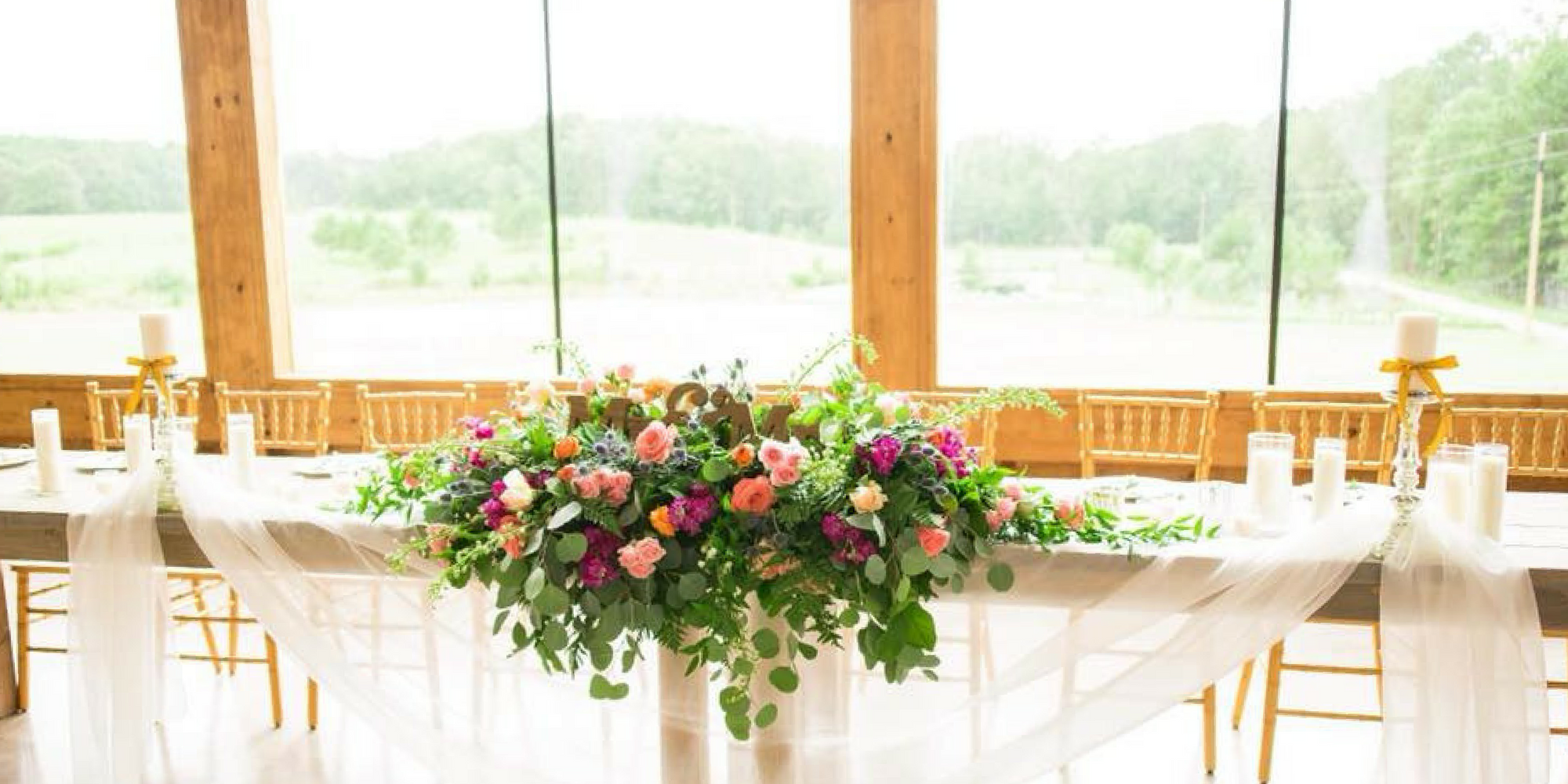 Wedding table display